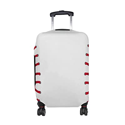 Travel Luggage Cover Stitch Duck Day Suitcase Protector Fits 26-28 Inch Washable Baggage Covers