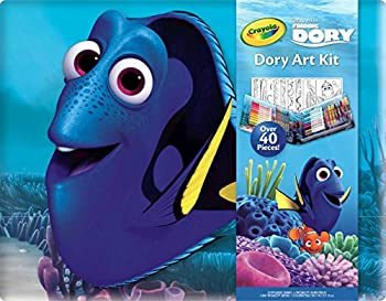 42-Pieces Crayola 04-2014 Finding Dory Small Art Kit