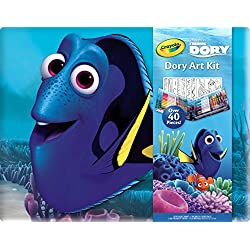 Crayola Finding Dory Art Kit