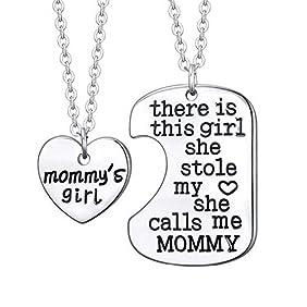 Mommy's Girl Pendant Set Family Necklace - 2 x 20