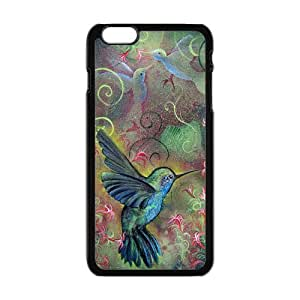Case Cover For Apple Iphone 6 Plus 5.5 Inch Holly Hummingbird