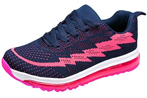 Gibra Sneaker rosa Donna blu scuro Bax8Br