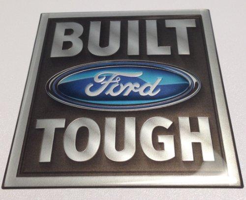Built Ford Tough Truck (Built Ford Tough Emblem, Domed