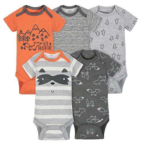 - Gerber Baby-Boys 5 Pack Variety Onesies, Explorer, 3-6 Months