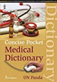 Concise Pocket Medical Dictionary, Panda, U. N., 9351525805