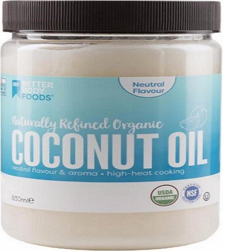 Better Body Foods Organic Coconut Oil -- 28 fl oz by BetterBody Foods