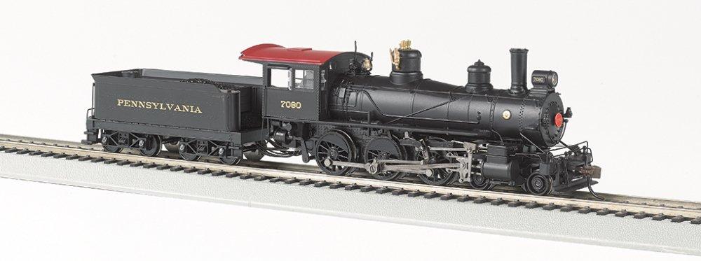 Bachmann Industries Baldwin 52'' Driver 4-6-0 DCC Sound Value Equipped Locomotive - PRR #7080 - (1:87 HO Scale)