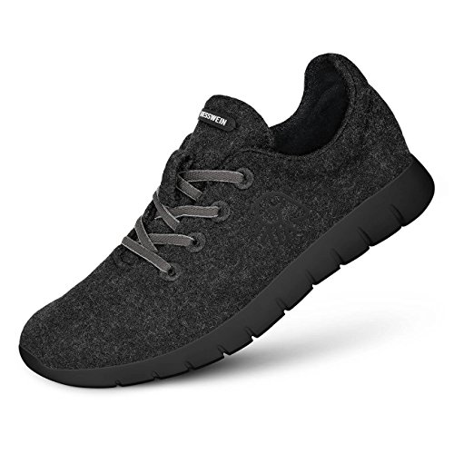 Anthrazit Black Runners Merino Giesswein Men UnHwqY8I8