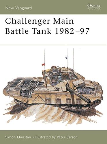 Challenger Main Battle Tank 1982–97 (New Vanguard) (Battle Challenger Tank Main)