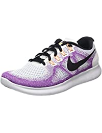 Womens Free Rn 2017 Low Top Lace Up Running Sneaker,...