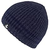 merino wool skull cap - lethmik Merino Wool Skull Beanie,Mens Daily Warm Soft Winter Hat Stripe Mix Knit Cap Navy