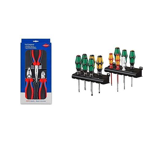 Knipex 00 20 11 Montage-Paket mit drei Zangen
