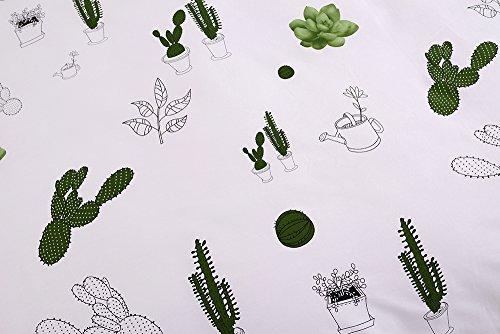 BuLuTu 3 Pieces Cotton Kids Bedding Duvet Cover Sets