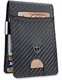 "Money Clip Wallet""RIO"" - Mens Wallets slim Front Pocket RFID Blocking Card Holder Minimalist Mini Bifold Gift Box"