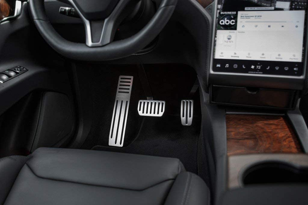 Interior Accessories EVANNEX Foot Rest Dead Pedal Cover for Tesla ...