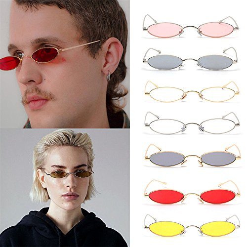 2292df30211 Clearance Sale!OverDose Ins Hot Mens Womens Retro Small Oval Sunglasses  Metal Frame Shades Eyewear. by overdose eyewear. Colour   4.  product-variation