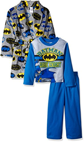 Batman Products : DC Comics Boys' Batman 2-Piece Pajama Set with Robe