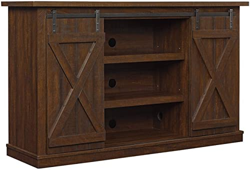 Bell O Cottonwood TV Stand for TV s up to 60 inches, Sawcut Espresso