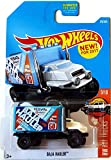 Hot Wheels 2017 HW Hot Trucks Baja Hauler 179/365, White and Light Blue