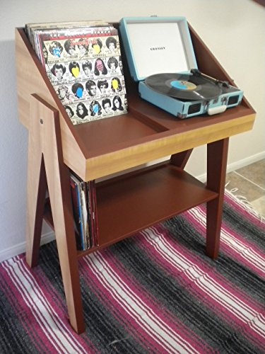 Record Player And Vinyl Storage Stand Buy Online In Uae
