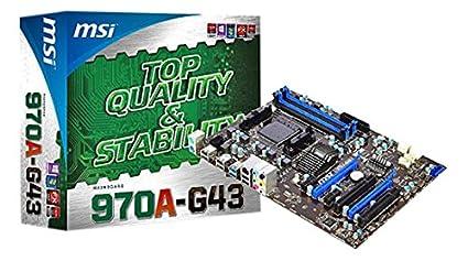 MSI ATX DDR3 2133 AMD - AM3+ Motherboards 970A-G43