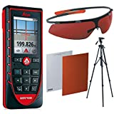 Leica Disto E7500i 500ft Laser Distance Measure with Bluetooth, Color Viewscreen, Red/Black (Bluetooth Bundle)