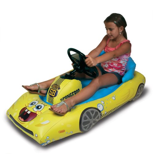 SpongeBob SquarePants Inflatable Sports Car for iPad by CTA Digital (Image #3)