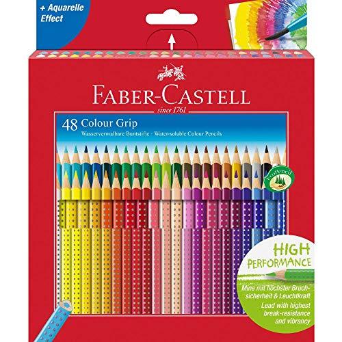 Faber-Castell 48 Colour Grip Pencil
