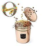 Multi Flavor Popcorn Tin - 6.5 Gallon - Sweet & Salty | Cookies & Cream | Caramel Chocolate Drizzle