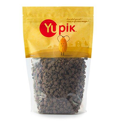 Yupik Barry Callebaut Semi-Sweet Chocolate Chips 1000ct, 2.2 Pound
