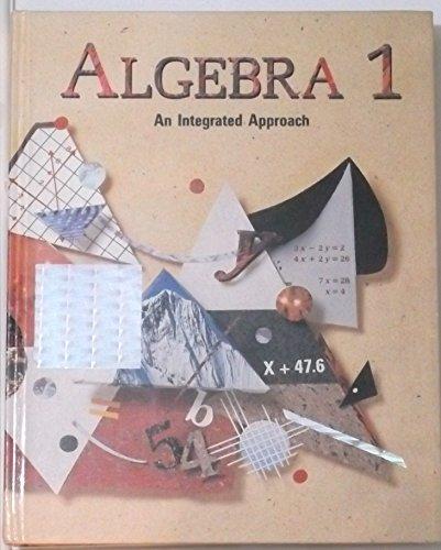 integrated algebra 1 - 4