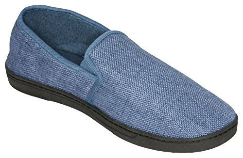 Deluxe Comfort Male Memory Foam Slippers - Size 9 to 10 S...