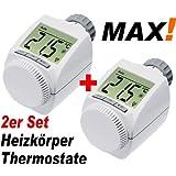 MAX! Heizkoerperthermostat 2er Set