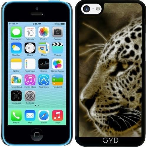 Coque pour Iphone 5c - Jaguar Sauvage Lion Tigre by WonderfulDreamPicture