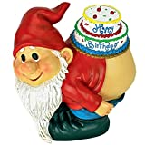 Design Toscano QM17044 Loonie Moonie Happy Gnome Statue, Birthday, Multicolor Review