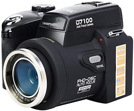 Cámara réflex digital digital D7300 33MP FHD Pantalla LCD TFT de ...