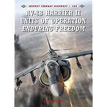AV-8B Harrier II Units of Operation Enduring Freedom (Combat Aircraft)