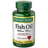 Cheap Nature's Bounty Fish Oil, 1200mg, Softgels, 60 ea