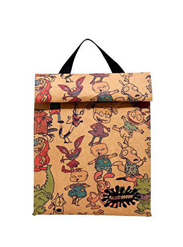 Nickelodeon Retro Characters Insulated Lunch Sack -
