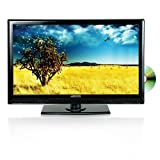 Axess 13.3-Inch LED Full HDTV, Includes AC/DC TV, DVD Player, HDMI/SD/USB Inputs, TVD1801-13