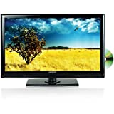 Axess 13.3-Inch LED HDTV, Includes AC/DC TV, DVD Player, HDMI/SD/USB Inputs, TVD1801-13