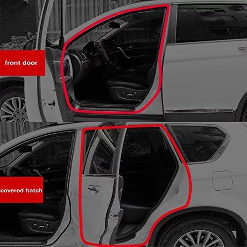 Folconroad Autocollant Auto Joint en Caoutchouc Bande d/étanch/éit/é pour Porte de Voiture fen/être Housse de Moteur Forme B 500/cm 1600/cm 2600/cm