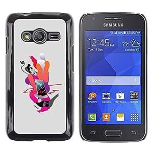 Be Good Phone Accessory // Dura Cáscara cubierta Protectora Caso Carcasa Funda de Protección para Samsung Galaxy Ace 4 G313 SM-G313F // phone life