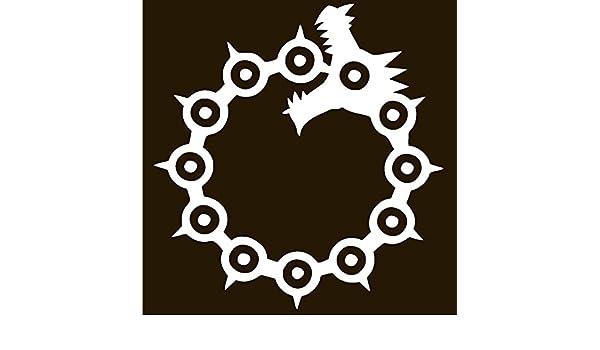 LeoPro MELIODAS calcomanía de Vinilo con Tatuaje de dragón: Amazon ...