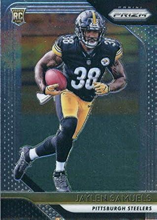 5c7e2b3c7 2018 Panini Prizm  238 Jaylen Samuels Pittsburgh Steelers Rookie Football  Card