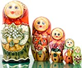 Russian Nesting Doll - Masha - Hand Painted in