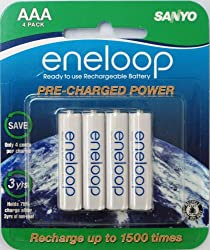 Image of the product eneloop AAA 1800 cycle Ni that is listed on the catalogue brand of SANYO.