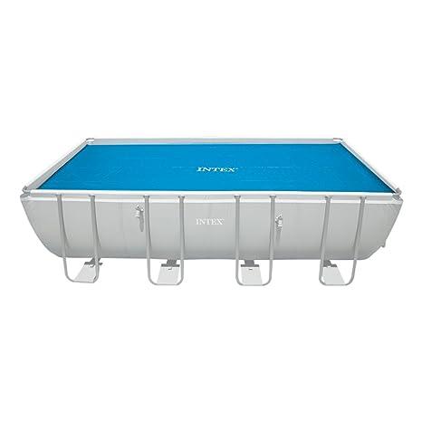 Intex Mac Due 29027 - Telo Termico Rettangolare, 732x366 cm: Amazon.it: Giardino e giardinaggio