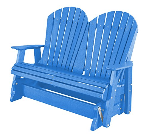 Little Cottage Company Lcc-104 Heritage 2 Seat Glider, Blue - 2 Seater Glider