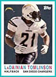 2008 Topps Turn Back the Clock #20 LaDainian Tomlinson SAN DIEGO CHARGERS TCU HORNED FROGS